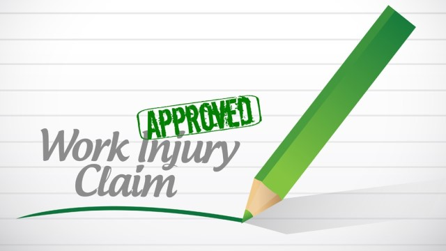claim for injuries at work NY